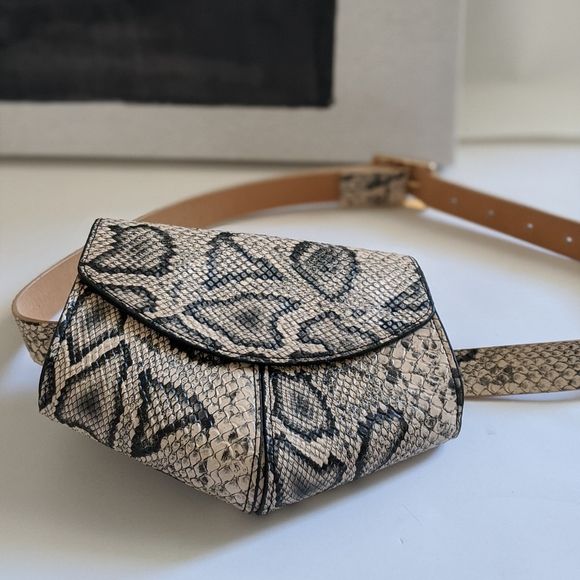 Handbags - Animal Print Waist Bag